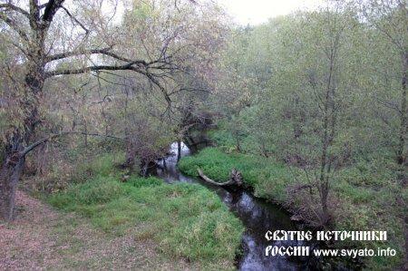 Родник, святой источник в честь Иоанна (Покровского) и Анны (Корнеевой) деревня Щербинино
