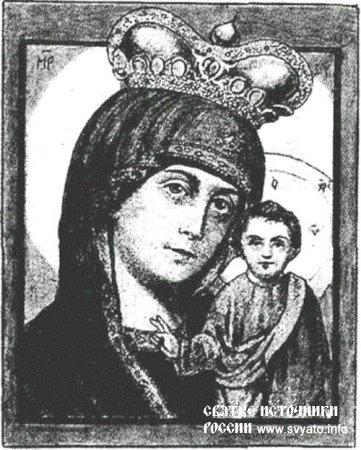Каплуновская-Казанская икона Богородицы