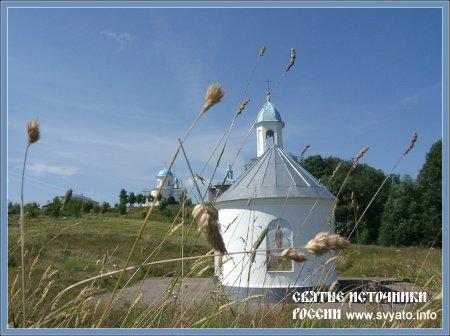 Родник, святой источник Тервенической иконы Божией Матери деревня Тервеничи