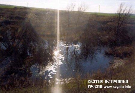 «Холодный» родник, источник «Сиве дал» у села Новое Ганькино