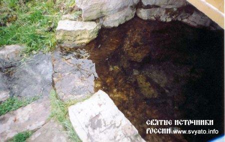 Родник «Живая вода» деревня Сухарь Матак