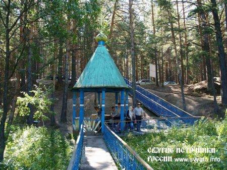 Родник, святой источник Казанской иконы Богородицы село Чимеево