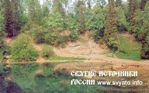 Лопухинское радоновое озеро