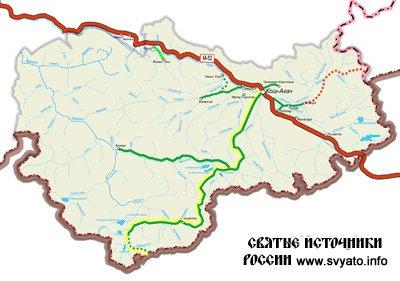 Водные ресурсы Кош-Агачского района