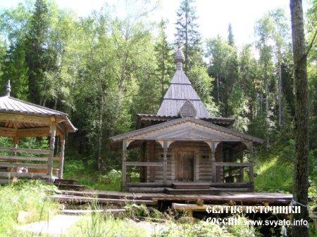 Родник, святой источник «Талец» урочище Куртяево, город Северодвинск