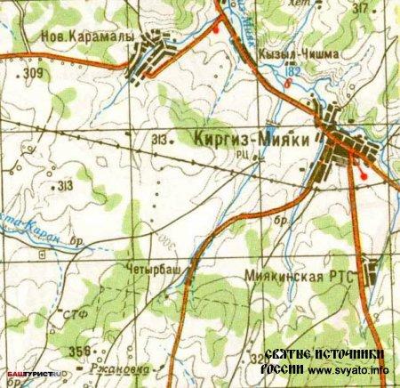 Реки Миякинского района