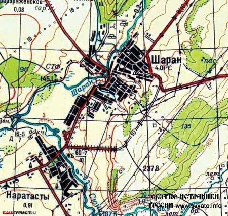 Реки Шаранского района