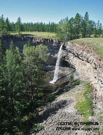 Водопад Малый Жомболок