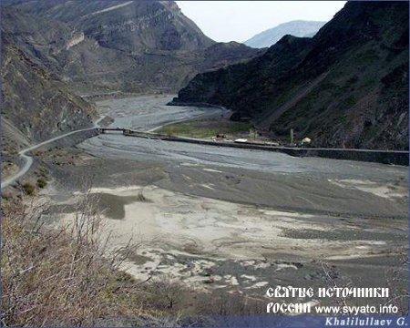 Река Андийское Койсу