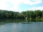 Озеро Кара-Куль у поселка Большие Лызи 2-е