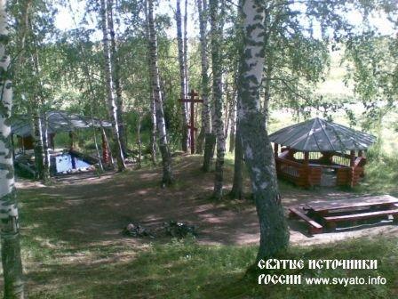 Родник «Белое озеро», святой источник между деревнями Маломедвежевская и Выставка