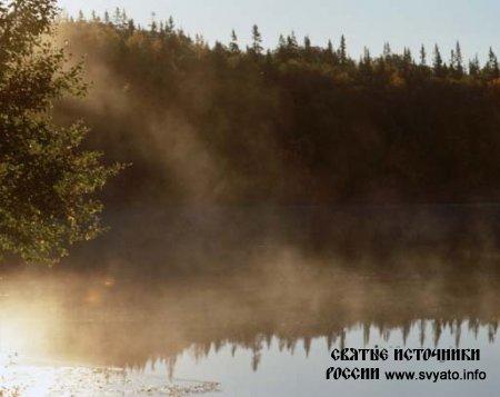 Святое озеро остров Анзер, Соловецкие острова