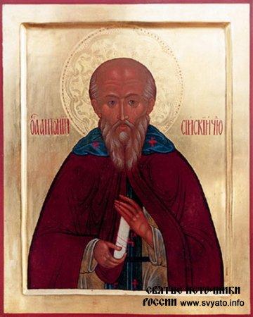 Преподобный Антоний Сийский, чудотворец