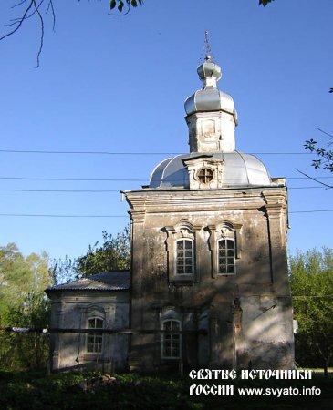 Церковь иконы Божией Матери «Всех скорбящих Радость» село Антоновка