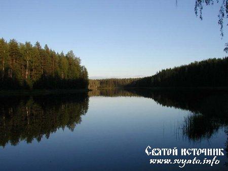 Озеро Святое (Угловатое) деревня Кязьмеш