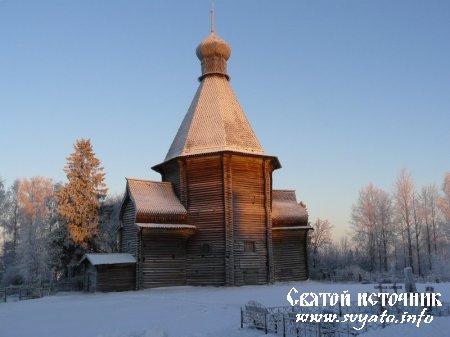 Церковь Успения Божией Матери деревня Новинки (Лявля)