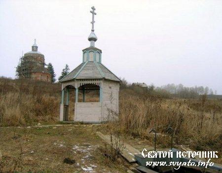 Родник, святой источник иконы Божией Матери Всех скорбящих Радость деревня Чиркино