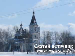 Никольская церковь деревня Ильеши