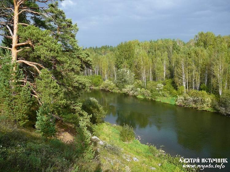 Река Чусовая » Святой источник