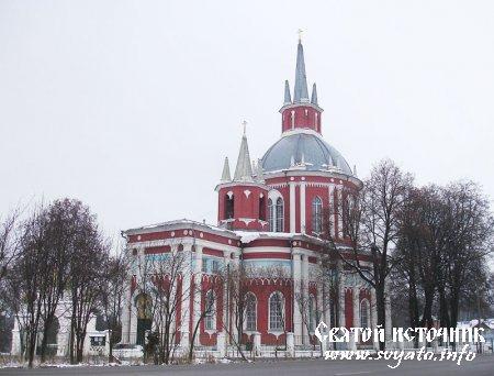 Никольская церковь село Царево