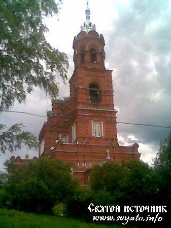 Храм в честь Архангела Михаила село Семьяны