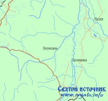 Река Пятигорка