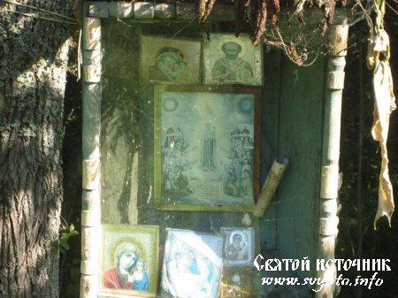 Родник, святой источник иконы Божией Матери Всех Скорбящих Радость у деревни Сабель