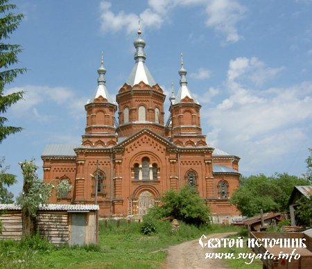 Задонский Богородице-Тихоновский (Тюнина) епархиальный женский монастырь село Тюнино