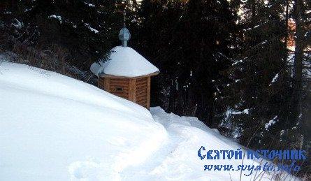 Родник, святой источник Туровецкого погоста у деревни Туровец