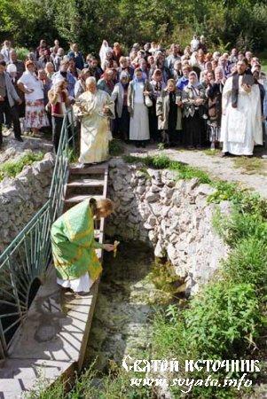 Родник, святой источник благоверного князя Александра Невского хутор Кирпичи